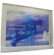Technology Fast 500 Asia Pacific 2004 Award